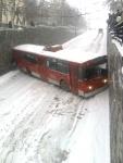 Подскользнулся троллейбус