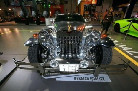 Хромированный Rolls-Royce Oldie