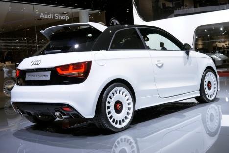GIMS 2012. Audi A1 Quattro 2,0