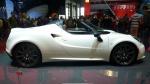 GIMS 2014. Alfa Romeo 4C Spyder