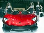 GIMS 2012. Lamborghini Aventador J