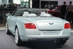 IAA 2011. Bentley Continental GTC 2012