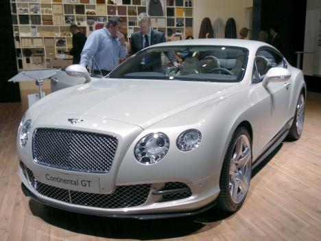 IAA 2011. Bentley Continental GT