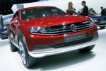 GIMS 2012. Volkswagen Cross Coupe concept