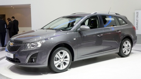 GIMS 2012. Chevrolet Cruze station wagon 2013