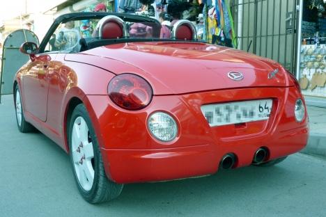 Анапа 2014. Daihatsu Copen