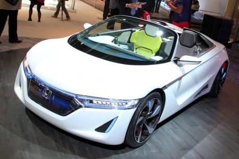 GIMS 2012. Honda EV-STER Concept