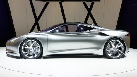 GIMS 2012. Infiniti Emerge-E Concept