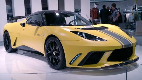 IAA 2011. Lotus Evora GTE