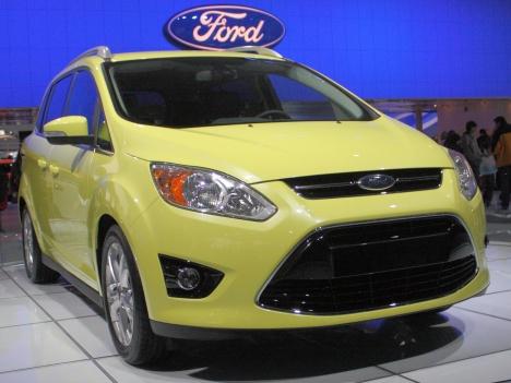 NAIAS. Ford C-Max 2011