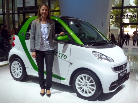 IAA 2011. Smart Fortwo Electric Drive