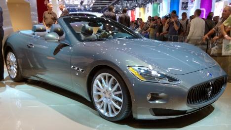 IAA 2011. Maserati GranCabrio Fendi