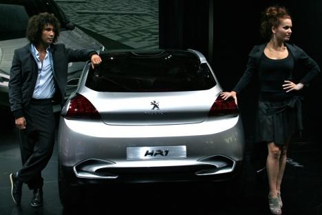 PIMS 2010. Peugeot HR1 Concept