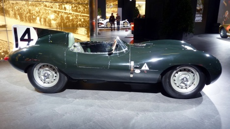 GIMS 2014. Jaguar Type D