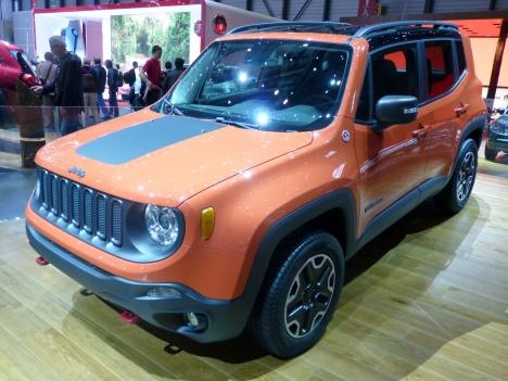 GIMS 2014. Jeep Renegade