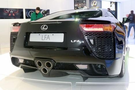 IAA 2011. Lexus LFA