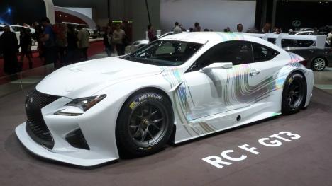 GIMS 2014. Lexus RC F GT3