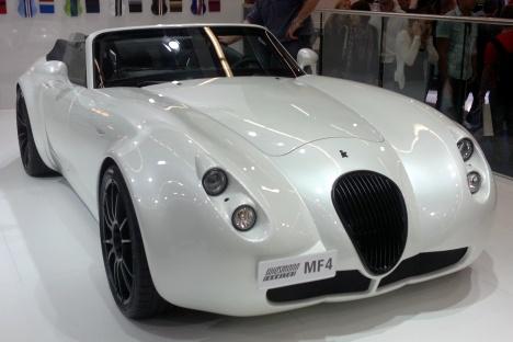 IAA 2011. Wiesmann Roadster MF4