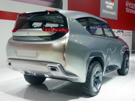 GIMS 2014. Mitsubishi GC-PHEV Concept