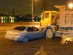 ДТП Hyundai и грузовика 1