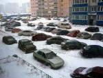 Снег в Питерских дворах