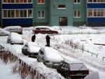 Снег в питерских дворах 3