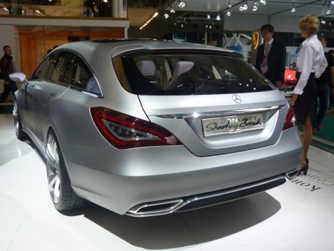ММАС 2010. Mercedes Shooting Break Concept