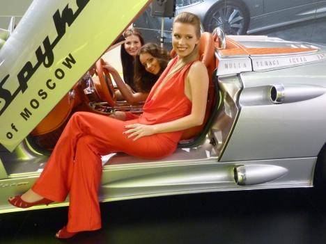 ММАС 2010. Spyker C8 Aileron Spyder