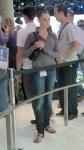 IAA 2011. Девчонка на стенде БМВ
