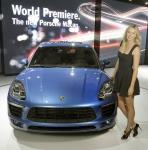 Мария Шарапова представила Porsche Macan