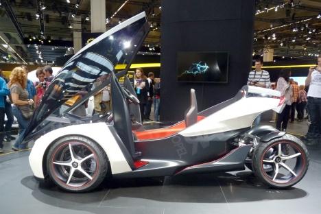 IAA 2011. Opel RAK e Concept