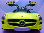 IAA 2011. Mercedes SLS AMG E-CELL
