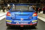 GIMS 2014. Subaru WRX STI NBR Challenge
