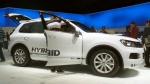 IAA 2011. Volkswagen Touareg Hybrid