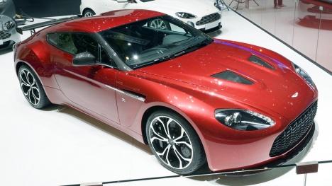 GIMS 2012. Aston Martin V12 Zagato