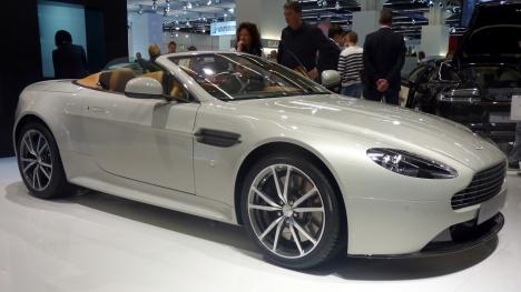 IAA 2011. Aston Martin V8 Vantage S Roadster