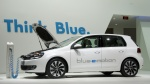 NAIAS. Volkswagen Blue-e-Motion Golf