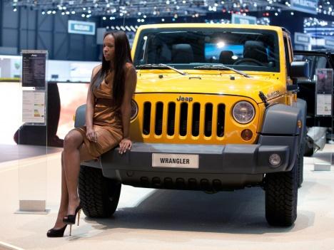 GIMS 2012. Jeep Wrangler Rubicon