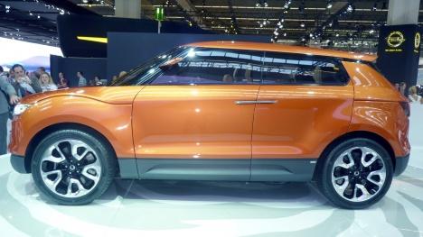 IAA 2011. SsangYong XIV-1 Concept