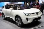 GIMS 2012. SsangYong XIV-2 convertible concept