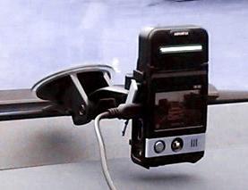 Автомобильный видеорегистратор с экраном