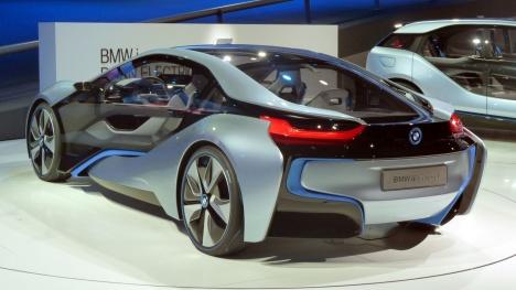 IAA 2011. BMW i8 Concept