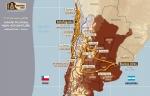 Карта Дакара 2010