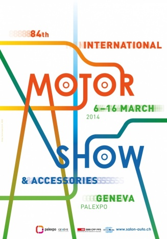 84th Geneva International Motor Show poster