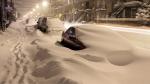 Дороги занесло снегом